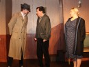 And now a 1930s whodunnit - DCI Jim Rash (Clem) and DS Fiona Longstaff (Vivvi) surround and grill Arnold